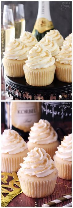 Champagne Cupcakes ~ Don't Eat Them All