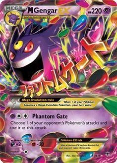M Gengar EX 35/119 - XY Phantom Forces ULTRA RARE PREORDER SHIPS 11/9 #Pokemon