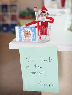 Cant wait to start this tradition with the kids this year. My elf should be arriving very soon. Thanks to My Pigeon Pair for sharing some great ideas!!