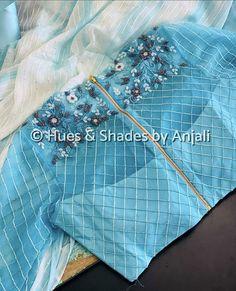 Simple Blouse Designs, Sari Blouse Designs, Saree Blouse Patterns, Kids Lehanga Design, Drape Sarees, Half Saree Designs, Saree Trends, Blouse Models, Pattern Fashion