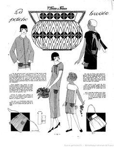 page 23 Beaded Embroidery, Embroidery Patterns, Hand Embroidery, Diy Clothing, Clothing Patterns, Journal Vintage, Vintage Closet, Retro Vintage Dresses, Vintage Fashion