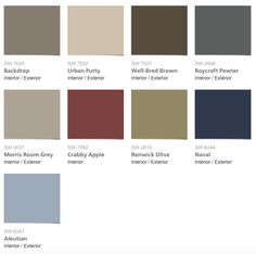 these are all the colors i ve already picked tuscan inspirations