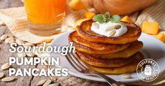 Sourdough Pumpkin Pancakes, sub flax or chia egg