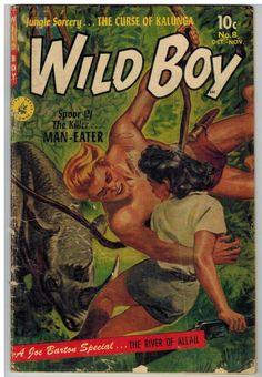 Wild Boy of The Congo 8 1952 Golden Age   eBay