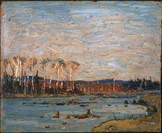 Tom Thomson Catalogue Raisonné | Algonquin Park, Spring 1916 (1916.59) | Catalogue entry