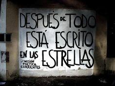 Acción poética Corrientes  #muros #rima