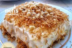 Çıtır Kadayıf Muhallebi (Kreması Harika) Tarifi Arabic Dessert, Arabic Sweets, Arabic Food, Indian Dessert Recipes, Ethnic Recipes, Macaroni And Cheese, Food Photography, Deserts, Food And Drink