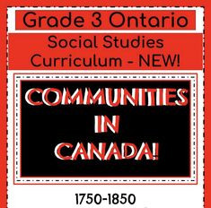 Social Studies Communities, Social Studies Curriculum, Cooperation Quotes, Canadian Identity, Report Card Comments, Ontario Curriculum, Indigenous Peoples Day, Hands On Activities, Grade 3