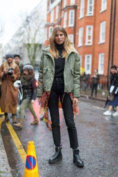 Best London Fashion Week Street Style Fall 2016 - London Street Style