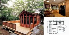 Fully furnished beautiful Wilderness Log Cabin can become yours for $26,500. | Beauty of Planet Earth