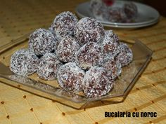 Trufe si salam de biscuiti bounty - Bucataria cu noroc Noroc, Cereal, Breakfast, Morning Coffee, Breakfast Cereal, Corn Flakes