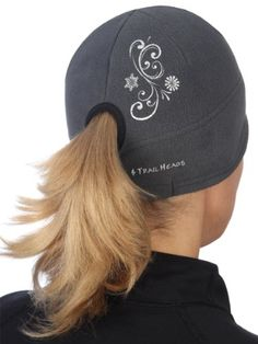 TrailHeads Goodbye Girl Contour Ponytail Hat Lady Biker 0aad0454d526