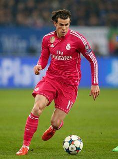 En lo suyo, el galés Gareth Bale, a favor del Real Madrid: UEFA Champions League.