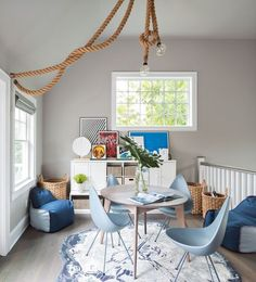 30 Wonderful Image of Living Room Spring Decor . Living Room Spring Decor 26 Best Ways To Tackle A Spring Home Makeover Spring Decorations Playroom Design, Playroom Decor, Playroom Storage, Attic Playroom, Playroom Ideas, Design Bedroom, Bedroom Ideas, Modern Country, Modern Farmhouse