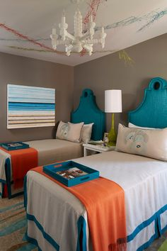 House of Turquoise | Teal bedroom