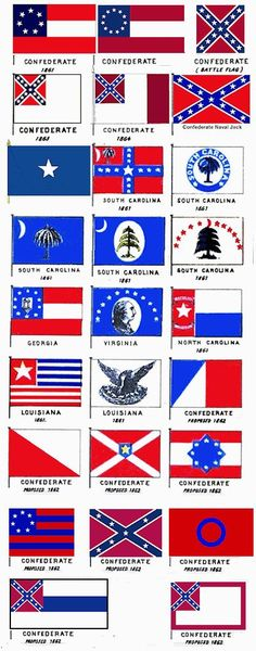 flags of the confederacy | Confederate States of America - CSA