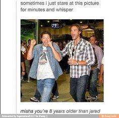 Meanwhile Misha Collins