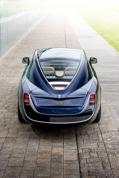Car brand Rolls-Royce has created a two-seater motorcar based on its vintage models that has sold for a reported eight-figure sum.
