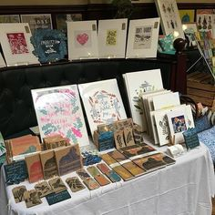 regram @fabritziadesign All set up at @maltcross Nottingham for the @hnmarkets today 11-5 pop along there are some amazing stalls cake and ice cream!!! #hnmarkets #craftfair #handmade