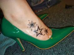 Tatuagens Femininas: 20 Tatuagens Femininas no Pé