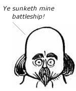 Battleship by Shakespeare