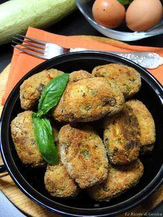 Crocchette Filanti di Melanzane e Zucchine cotte al forno