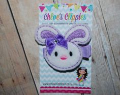 Popular items for purple easter bow on Etsy