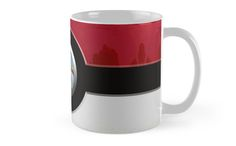 Red Pokeball Mugs #mugs #travelmugs #sport #gameboy #gamecube #gamecontroller #nintendo #sega #playstation #ps #ps1 #ps2 #ps3 #ps4 #retro #vintage #Pokemon #pokeball #pikachu #gengar #pokedex #monster #duelmonster #Mystic #Instinct #Valor #Articuno #Zapdos #Moltres #cartoon