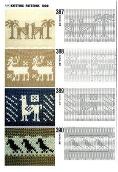 [knit] Norwegian knitting patterns... More free graphs