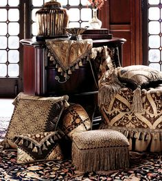 Luxury Bedding by Eastern Accents - Garnier Collection