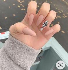 Acrylic Nails Natural, Acrylic Nails Coffin Short, Blue Acrylic Nails, Simple Acrylic Nails, Square Acrylic Nails, Summer Acrylic Nails, Acrylic Nail Designs, Summer Nails, Matte Nails