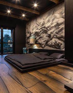 Luxury Bedroom Design, Bedroom Bed Design, Home Room Design, Dream Home Design, Home Decor Bedroom, Modern Interior Design, Interior Design Inspiration, House Design, Bedroom Designs