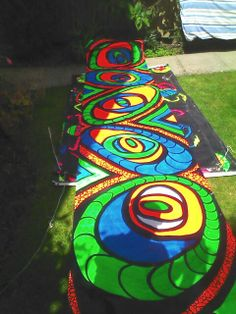 Uv backdrop for hire