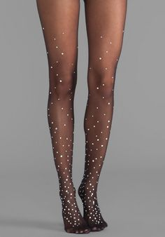 WOLFORD Marchesa Tights in Black - Hosiery & Socks