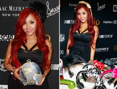 Snooki Headband Headphones? We've offish seen everything. What do you think?