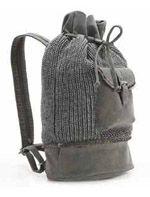 Вязаный городской рюкзак Abbacino