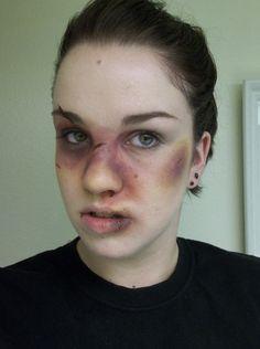 Bruise Makeup On Pinterest | Gory Halloween Makeup Makeup And Makeup For Halloween