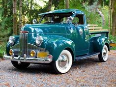 1947 Studebaker Pickup - 47, pickup, vintage, classic, trees, 1947, car, antique, truck, studebaker #vintagecars
