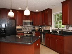Kitchen Kitchen Cabinet Refacing Kitchen With Island And Faucets Are Also Oven And Fridge With Lighting Kitchen Kitchen Cabinet Refacing Is Best Remodeling Kitchen Cabinet