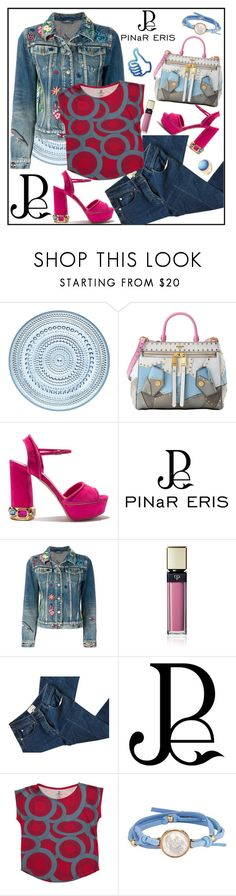 """PINaR ERIS "" Chunky Geo Prints"""" by carola-corana ❤ liked on Polyvore featuring iittala, Moschino, Casadei, Gucci, Clé de Peau Beauté, 3.1 Phillip Lim, ASHA, Roberto Coin and pinareris"