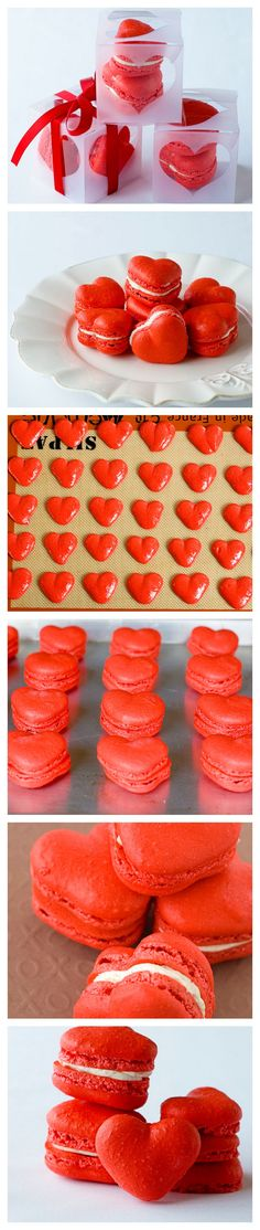 Red Velvet Valentine's Macarons | DIY Valentines Day Ideas