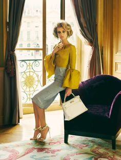 Natalia Krauchanka Exudes Classic Glamour for SCMP Style