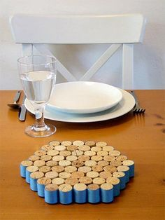 all those wine corks will come into use