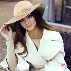 transition into spring with #AdornALaFemme floppy hat