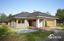 Miriam V - Dobre Domy Flak & Abramowicz Beautiful Homes, House Plans, Shed, Outdoor Structures, Houses, Projects, House Of Beauty, Blueprints For Homes, Homes
