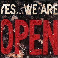 Aaron Christensen 'Open' Gallery Wrapped Canvas Art
