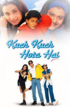 kuch kuch hota hai poster Bollywood Movies List, Bollywood Movies Online, Bollywood Songs, Top Romantic Movies, Srk Movies, Kuch Kuch Hota Hai, Bollywood Posters, Sr K