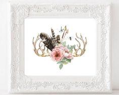 https://www.etsy.com/search?q=feather flower art