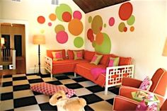 Lucy and Company Playrooms - love this floor!