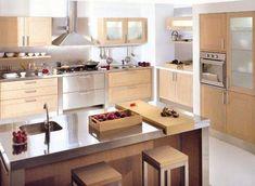 decoración de cocina moderna sencilla